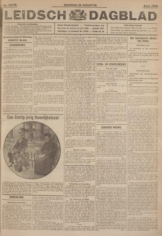 Leidsch Dagblad 1926-08-16