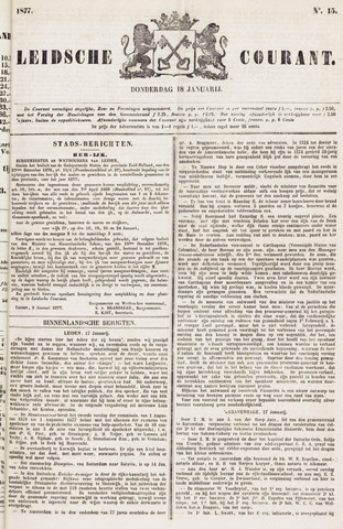 Leydse Courant 1877-01-18