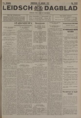 Leidsch Dagblad 1937-01-28