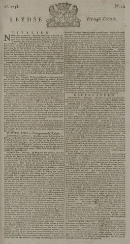Leydse Courant 1736-02-24