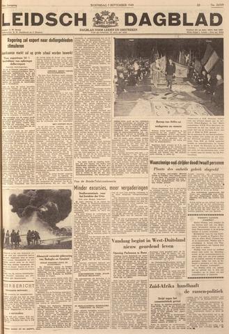 Leidsch Dagblad 1949-09-07