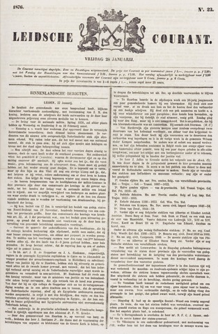 Leydse Courant 1876-01-28