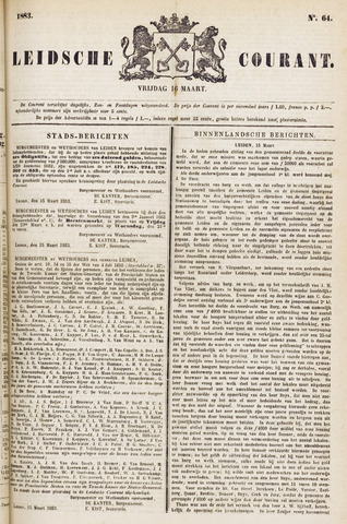 Leydse Courant 1883-03-16