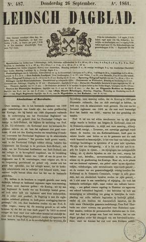 Leidsch Dagblad 1861-09-26