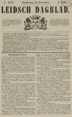 Leidsch Dagblad 1866-12-20