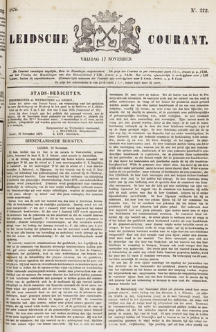 Leydse Courant 1876-11-17