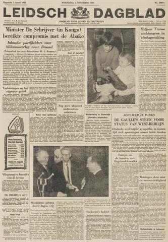 Leidsch Dagblad 1959-12-02