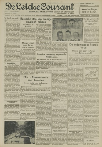 Leidse Courant 1950-02-03
