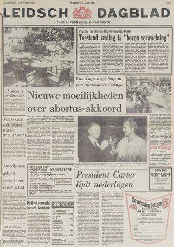 Leidsch Dagblad 1977-09-21