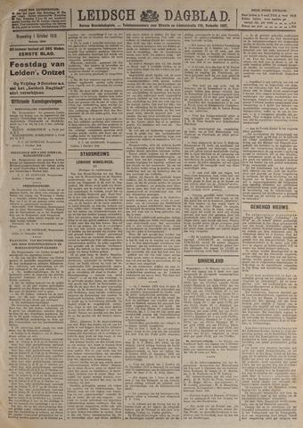 Leidsch Dagblad 1919-10-01