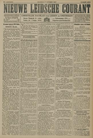 Nieuwe Leidsche Courant 1927-10-17