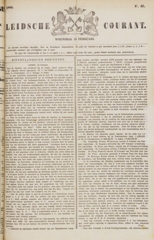 Leydse Courant 1884-02-13