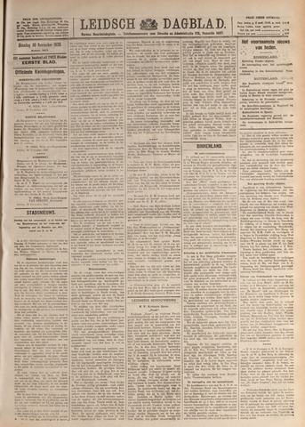 Leidsch Dagblad 1920-11-30