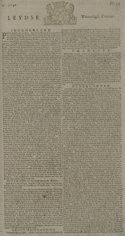 Leydse Courant 1740-05-04