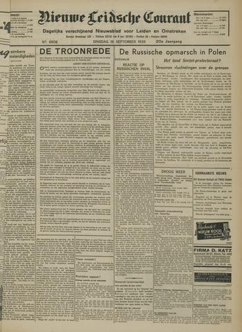 Nieuwe Leidsche Courant 1939-09-19