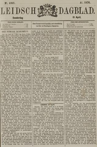 Leidsch Dagblad 1876-04-13