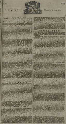 Leydse Courant 1729-06-27