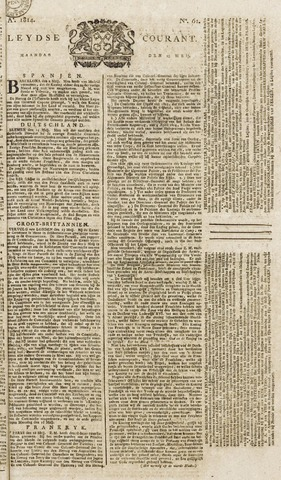Leydse Courant 1814-05-23