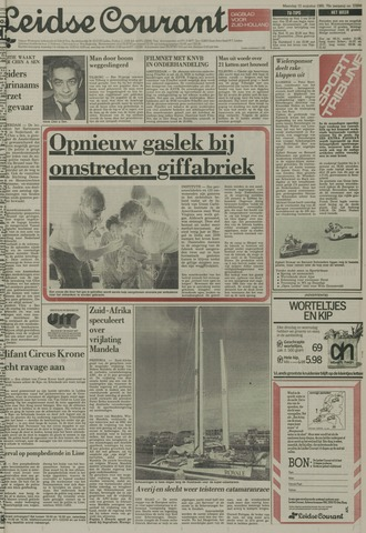 Leidse Courant 1985-08-12