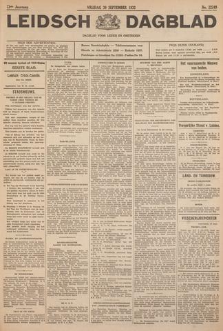 Leidsch Dagblad 1932-09-30