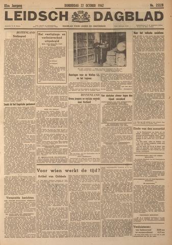 Leidsch Dagblad 1942-10-22