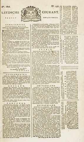 Leydse Courant 1826-12-29