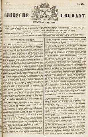Leydse Courant 1872-10-24