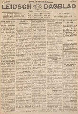 Leidsch Dagblad 1928-09-13
