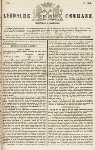Leydse Courant 1872-11-06