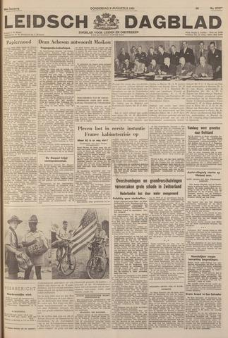 Leidsch Dagblad 1951-08-09