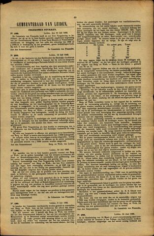 Handelingen van de Raad 1886-07-10