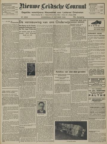Nieuwe Leidsche Courant 1938-10-27