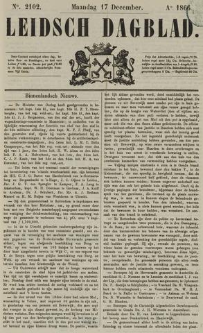 Leidsch Dagblad 1866-12-17
