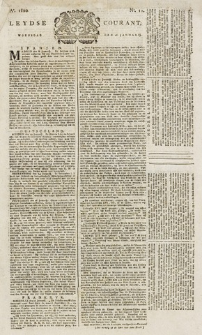 Leydse Courant 1820-01-26