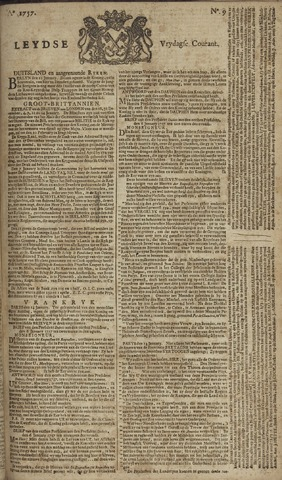 Leydse Courant 1757-01-21