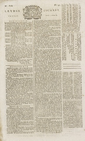 Leydse Courant 1818-04-03
