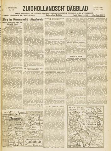 Zuidhollandsch Dagblad 1944-07-13