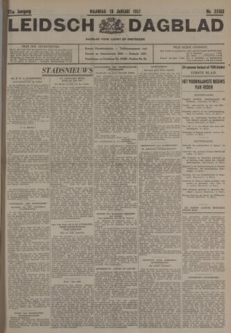 Leidsch Dagblad 1937-01-18