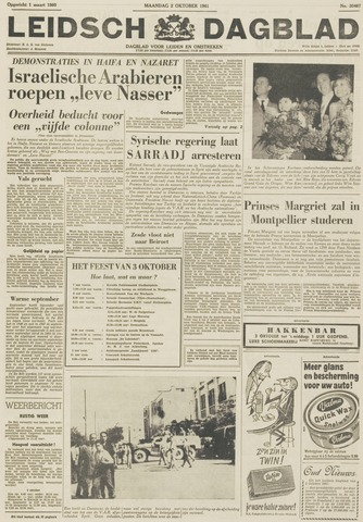 Leidsch Dagblad 1961-10-02