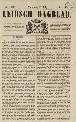 Leidsch Dagblad 1864-07-27