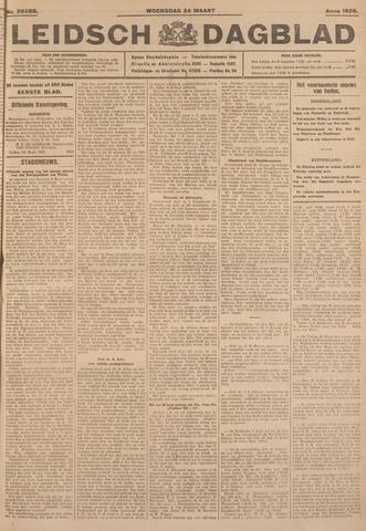 Leidsch Dagblad 1926-03-24