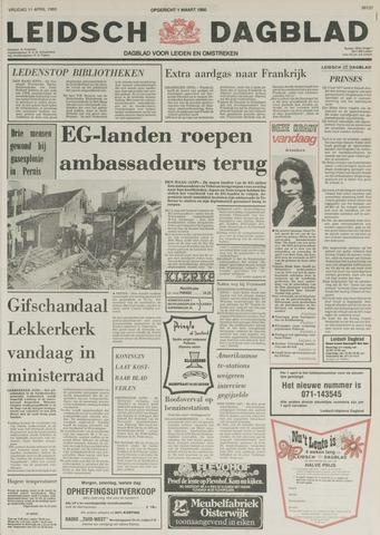 Leidsch Dagblad 1980-04-11