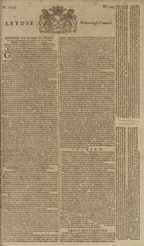 Leydse Courant 1755-12-03