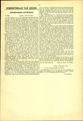 Handelingen van de Raad 1932-10-07