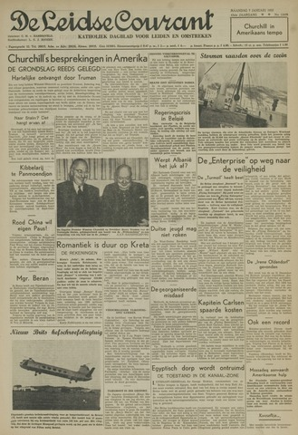 Leidse Courant 1952-01-07