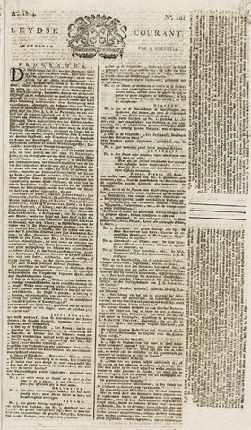 Leydse Courant 1814-08-24