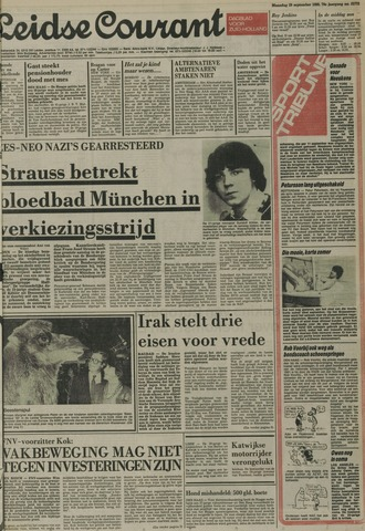 Leidse Courant 1980-09-29
