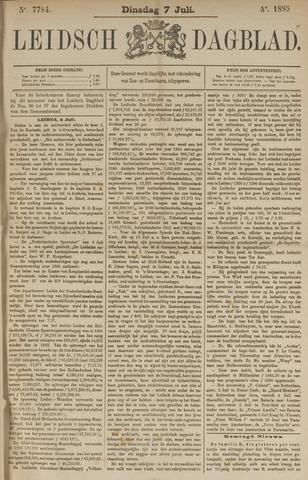 Leidsch Dagblad 1885-07-07