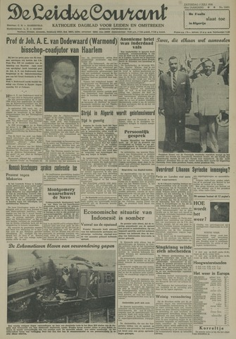 Leidse Courant 1958-07-05