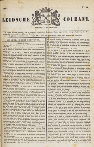Leydse Courant 1883-01-17